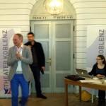 Der Chefredakteur der Rhein-Zeitung, Christian Lindner...