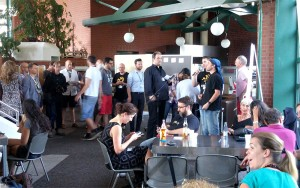 Sessionplanung beim BarCamp Koblenz